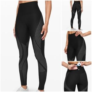 Lululemon Mapped Out HR Tight Black